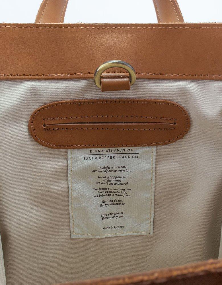 Elena Athanasiou Salt&Pepper X Eleana Athanasiou S/W bag