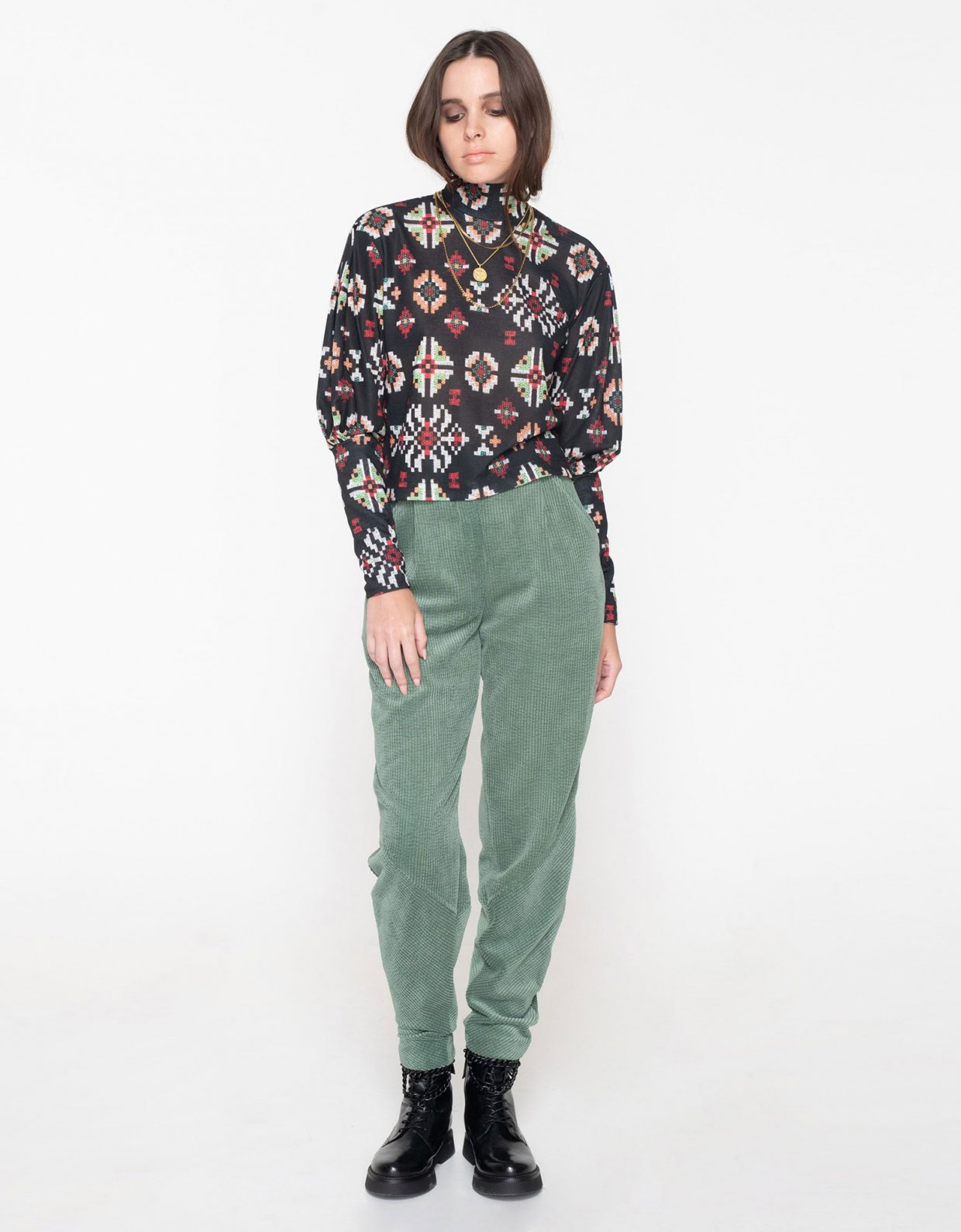 Nadia Rapti R.E.M. turtleneck top