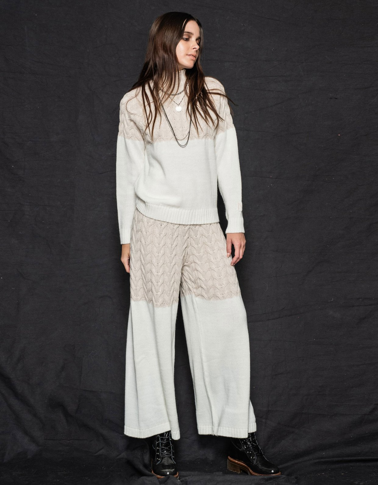 Nadia Rapti Offspring pants beige