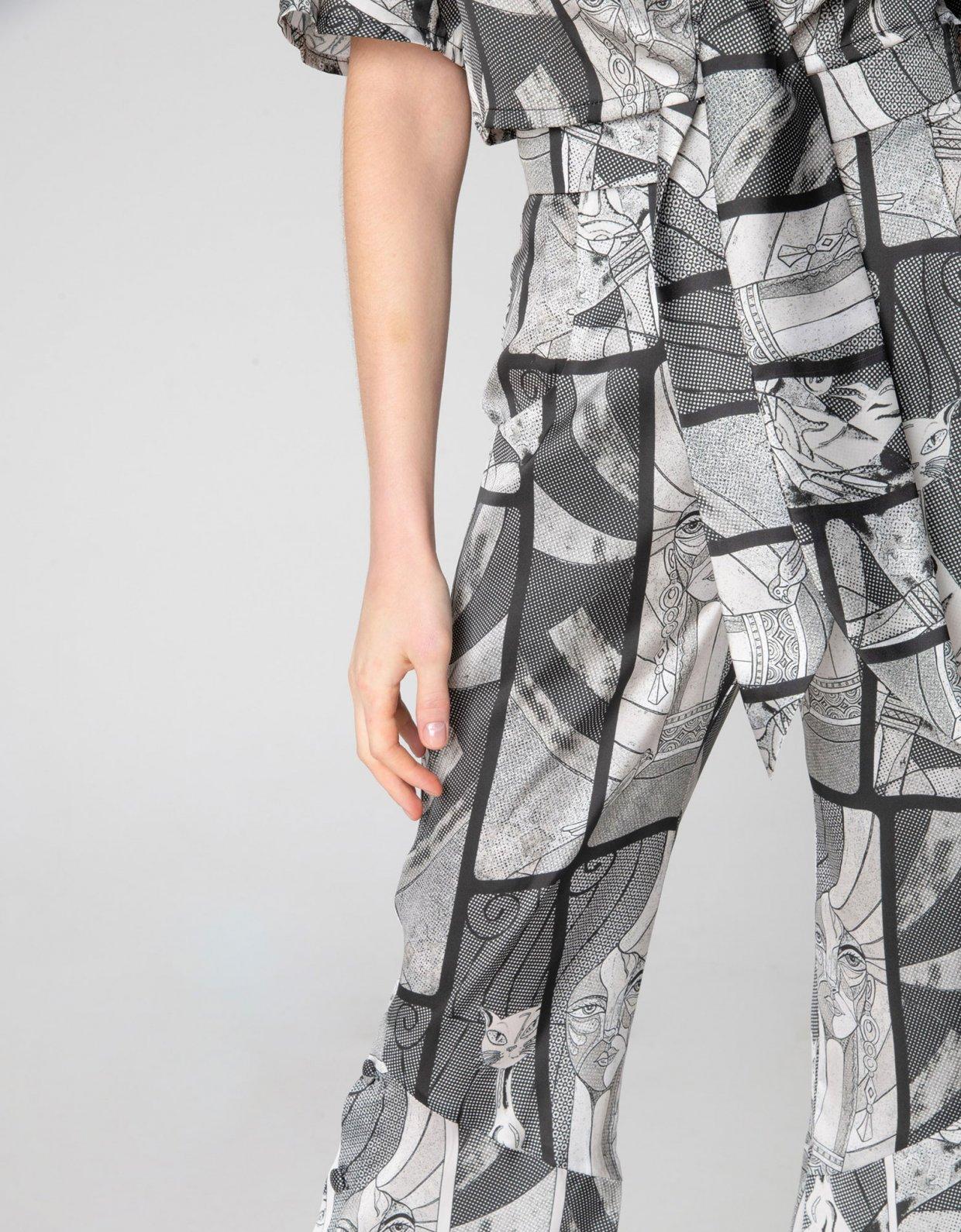 Nadia Rapti Roy B&W pants