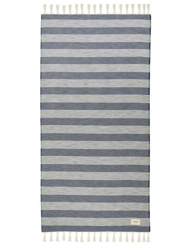 Sea you soon Palmarola navy - Beach towel
