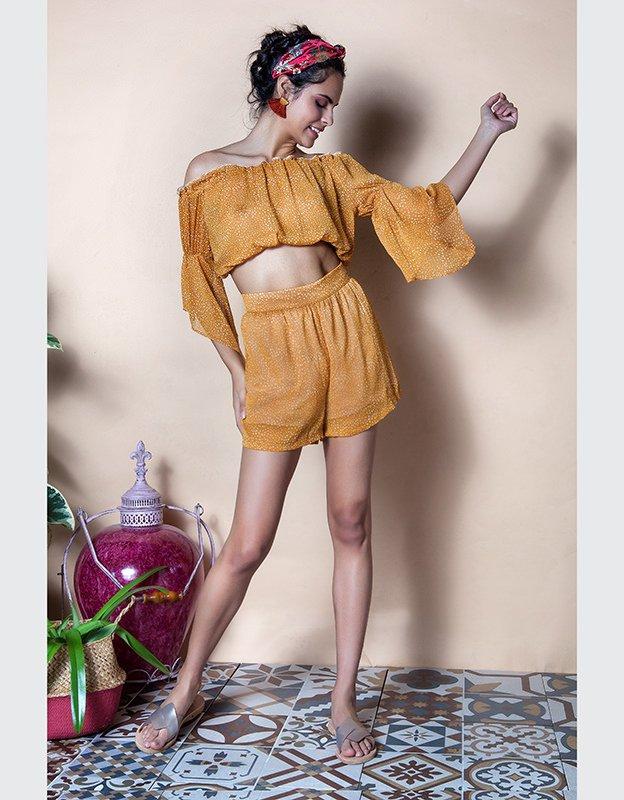 Mallory the label Sani shorts