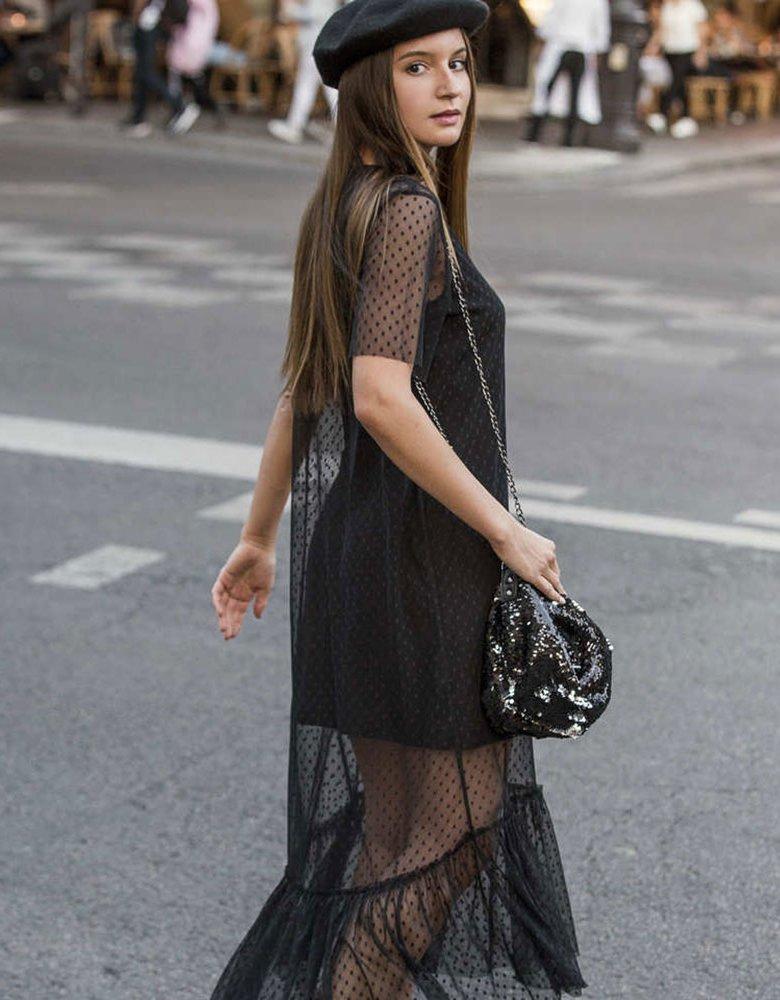 Elena Athanasiou Glam body bag black