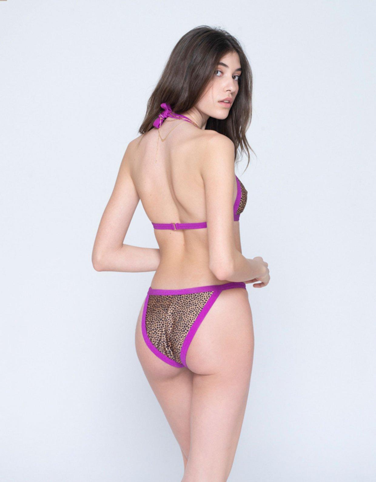 Sunset go Annie bikini croco/purple