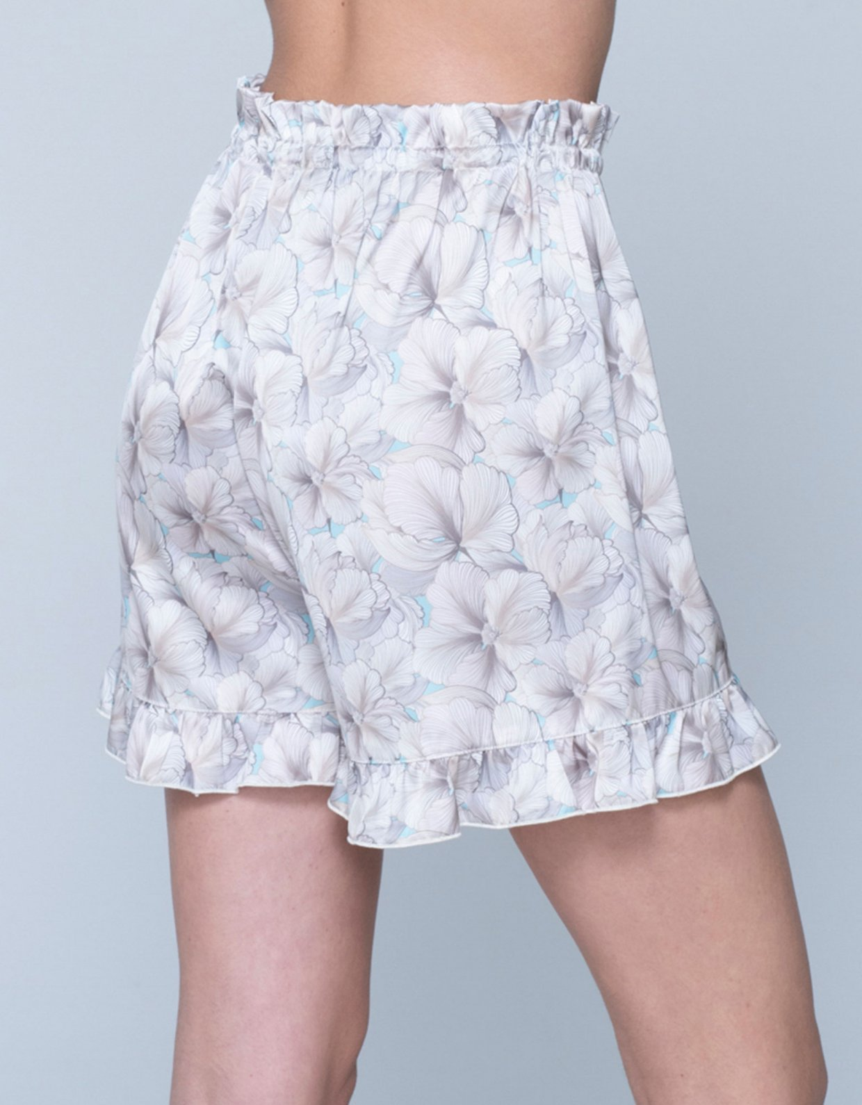 Sunset go Lucia shorts flowers