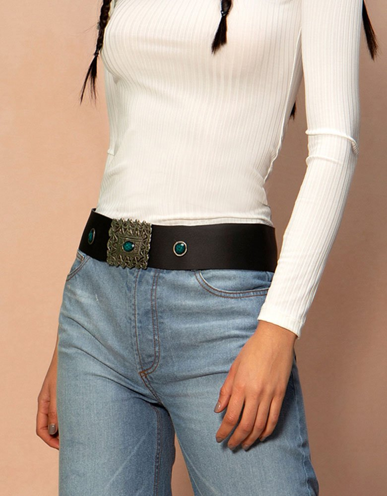 Peace & Chaos Templar belt black