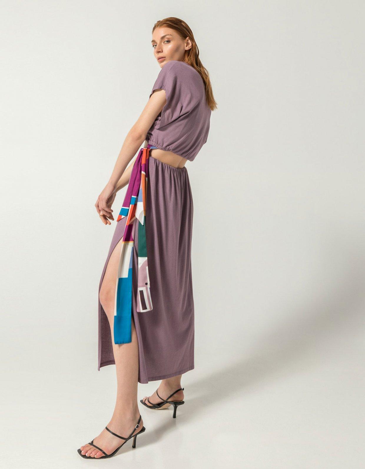 The Knl's Atene co-ords 2 in 1 dress lavender