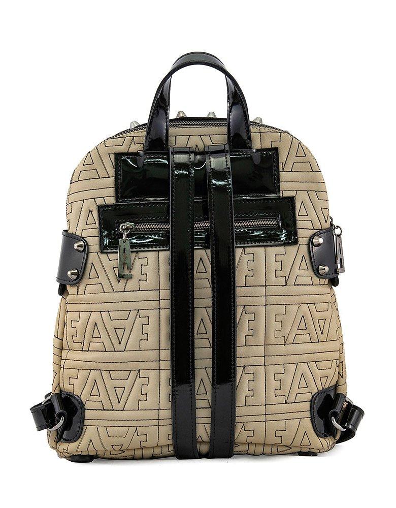 Elena Athanasiou EA logo biker sand backpack