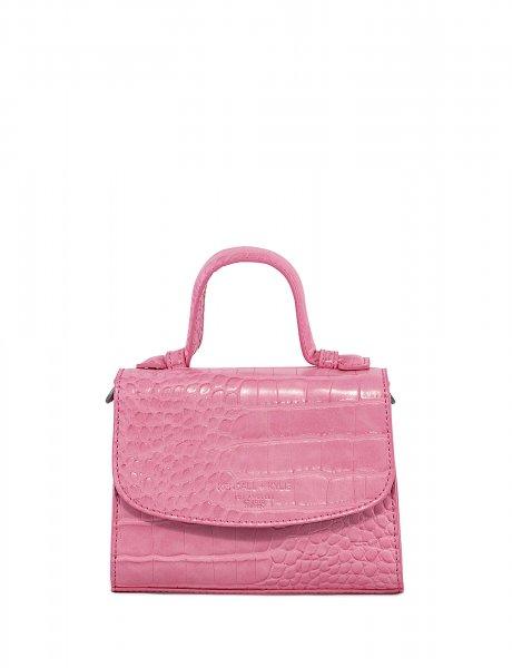 Bae mini crossbody pink croco
