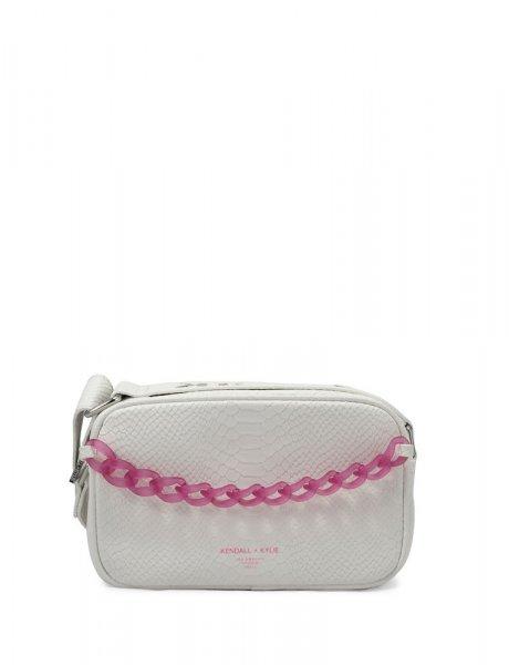 Lumi crossbody bag white snake