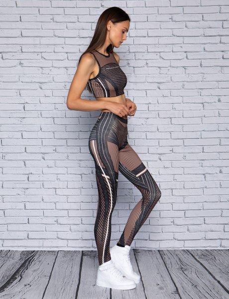 Symmetry balance leggings