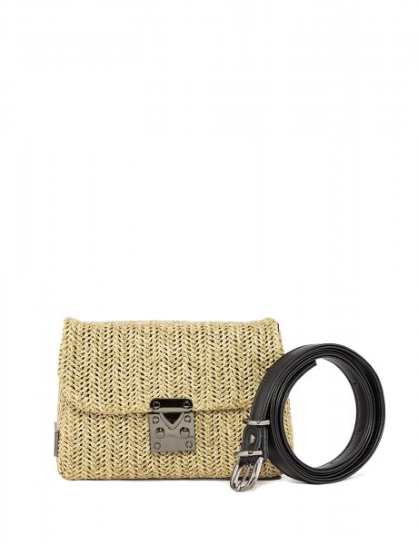 Safari belt bag beige