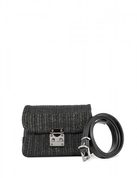 Safari belt bag black