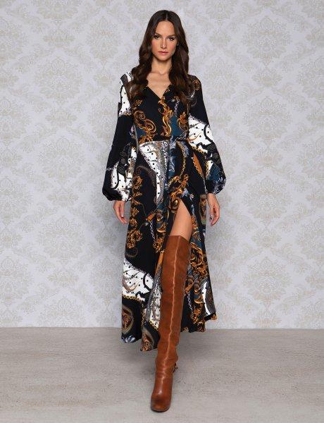 Vintage baroque dress