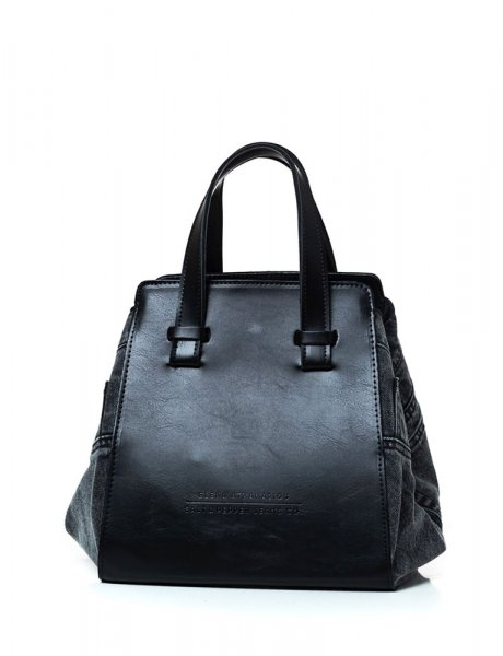 Salt&Pepper X Eleana Athanasiou black pearl bag