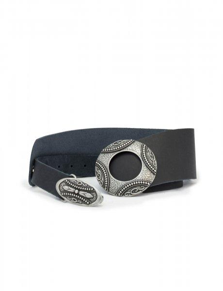 Supreme black/silver belt