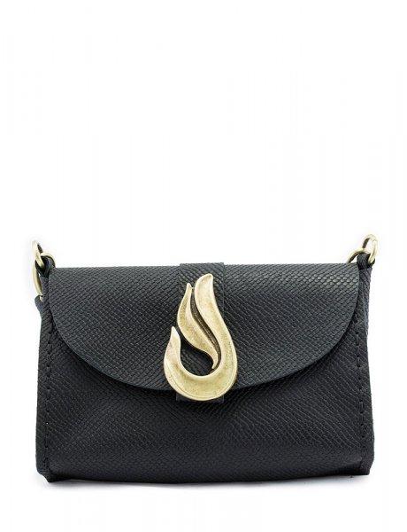 Teardrop bag black/bronze