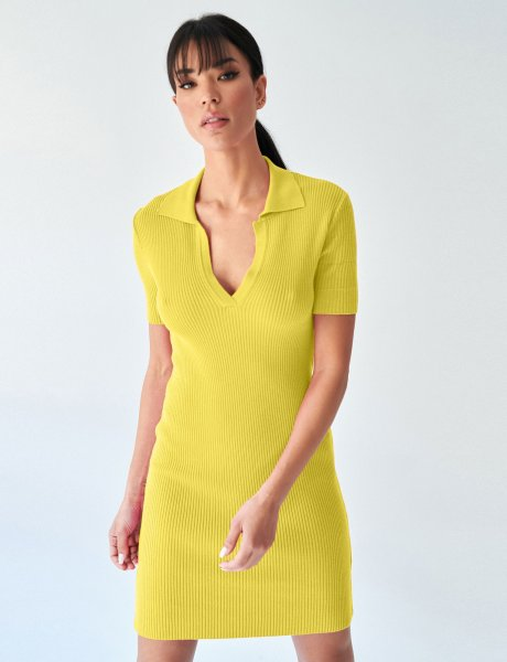 Combos S17 – Yellow polo dress