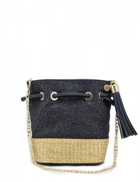 Carita shoulder bag blue denim