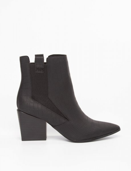 Finigan black booties