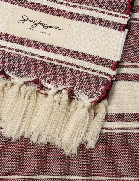 Capraia Cherry - Beach towel