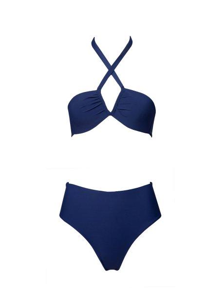 Celina bikini patriot blue