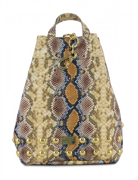 Backpack snake dark yellow