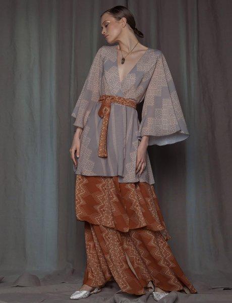 Heliodore kimono dress