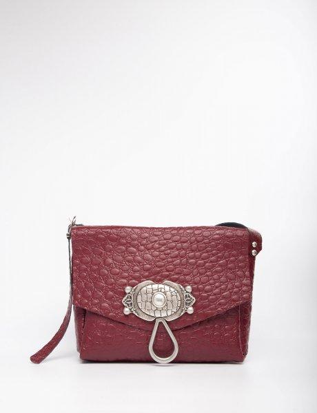 Casablanca burgundy bag