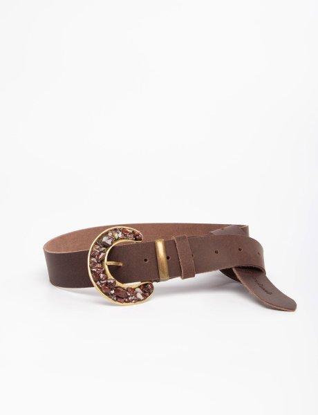 Material girl brown belt