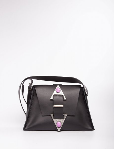 Dance monkey black/purple bag
