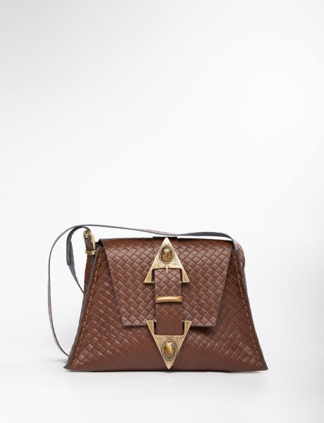 Dance monkey brown/bronze bag