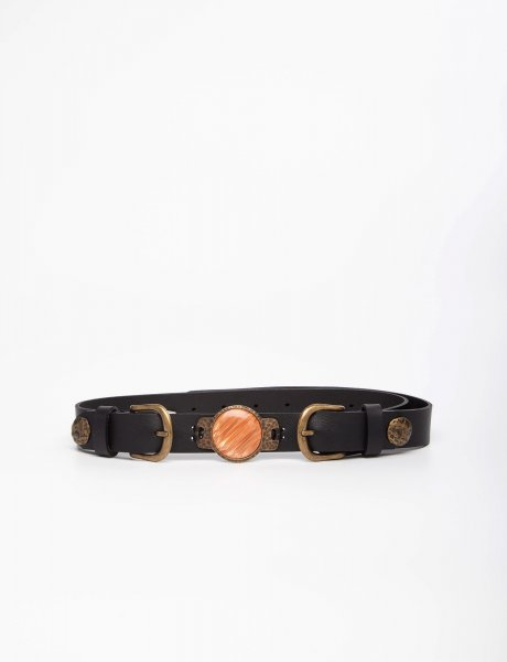 Moonchild black/bronze belt