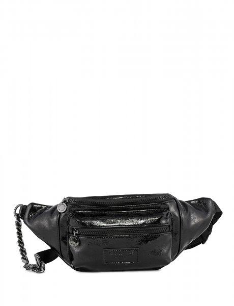 Michelle fanny pack crinkled black
