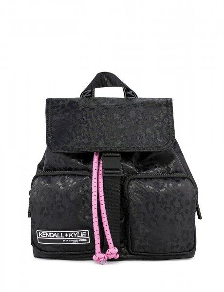 Jesse medium backpack black cheetah