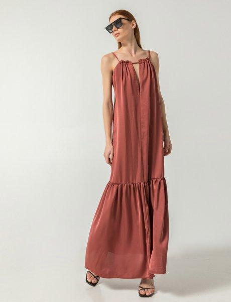 Legacy dress toffee