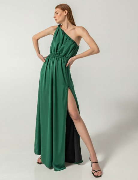 Emery dress emerald green