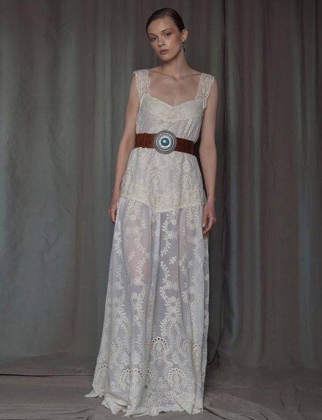 Platinum dress