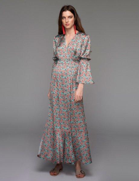 Papillon long dress