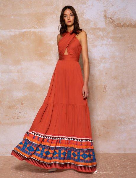 Andes maxi dress