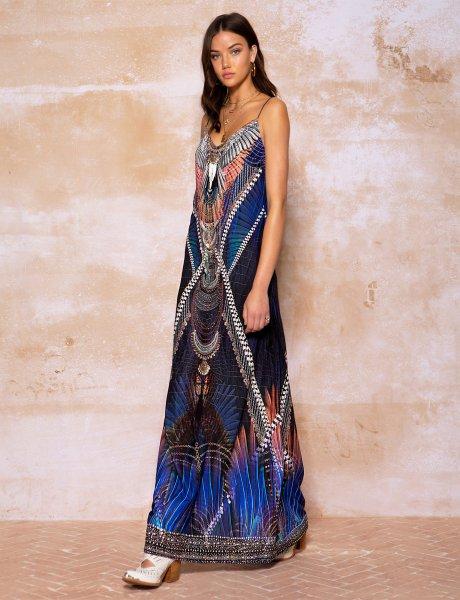 Mystic maxi dress