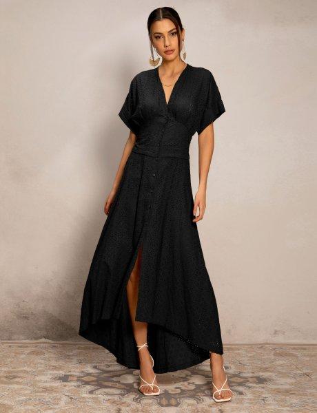 Summer breeze dress black