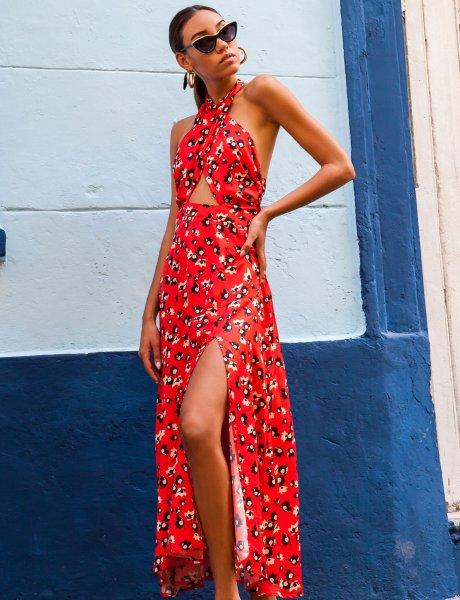 Salsa red dress