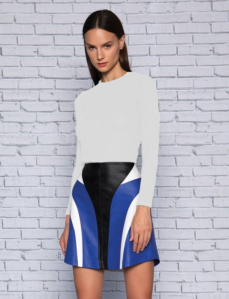 Thermal long top white