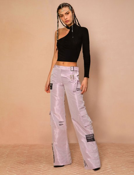 Rewired pants lilac