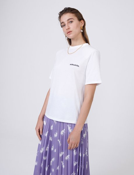 Milkwhite white t-shirt
