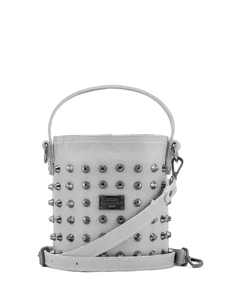 Basket bag small ice grey
