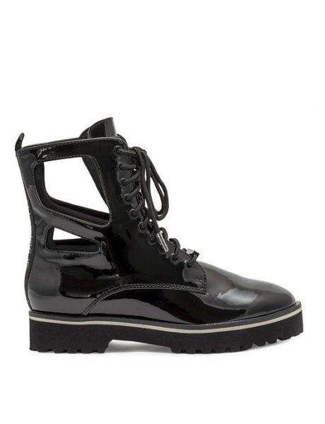 ΚΚ Langmore black vinyl boots