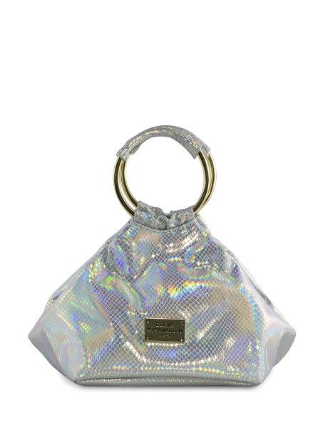 Glitter silver bracelet