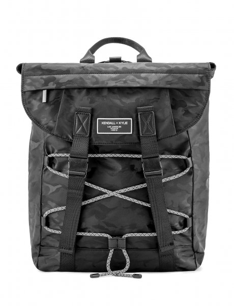 Mimi backpack black camo